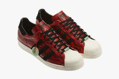 adidas Originals Superstar 80s - Serpent nouvel an chinois 2013