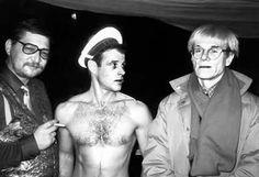 Fassbinder + Brad Davis + Andy Warhol = Querelle, 1992