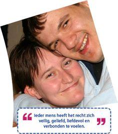 Weet jij wat 'Gentle Teaching' is? Gentle teaching is gebaseerd op de psychologie van de wederzijdse afhankelijkheid. Het vraagt de begeleiders/zorgverleners om naar zichzelf te kijken en om manieren te vinden om warmte en onvoorwaardelijke liefde te uiten naar diegenen die dit het meest nodig hebben :-) Meer lezen? Klik hier: http://www.prinsenstichting.nl/Default.aspx?MenuItemID=2386f78c-c389-4d64-ab19-a3e54f65f8b5#utm_sguid=147947,25aeee3c-d025-cf70-fb63-4f9bdbc3d5b0