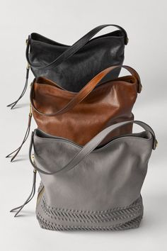 The Maya leather hobo is your go-to carry-all for spring.