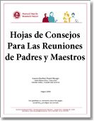 Parent–Teacher Conference Tip Sheets (Hojas de Consejos Para Las Reuniones de Padres y Maestros) / Browse Our Publications / Publications & Resources / HFRP - Harvard Family Research Project
