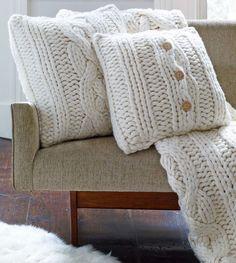 "UGG® Oversized Knit Pillow Cover-20"" | UGG® Australia"