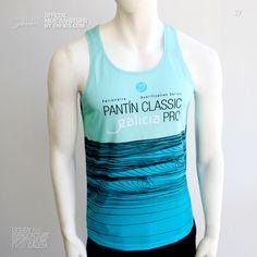Tank Top PANTÍN (Verde). Camiseta de tirantes (Tank Top) oficial PANTIN CLASSIC PRO, evento 27 en color verde. Athletic Tank Tops, Sportswear, Tank Man, Classic, Mens Tops, Color, Design, Women, Fashion