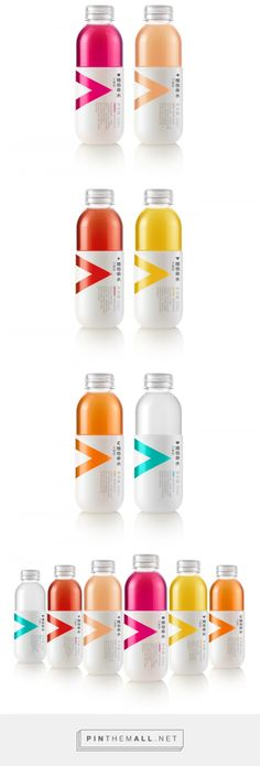Nongfu Spring Vitamin Water packaging design by Mousegraphics - http://www.packagingoftheworld.com/2017/11/vitamin-water.html