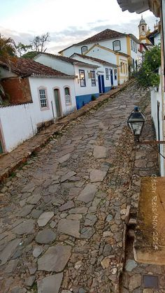 Ladeira em Tiradentes ✯Minas Gerais - Brasil