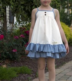 #riverside #ruffles #madeinusa #classic #rufflesandbows Baby Girl Dresses, Baby Dress, Madison Clothing, Kids Outfits, Cute Outfits, Kids Frocks Design, Frock Design, Toddler Girl, Secret Closet