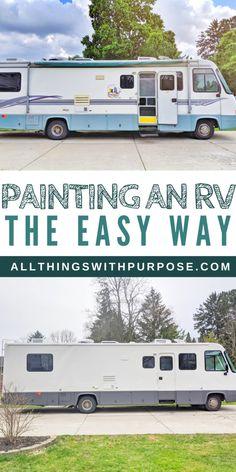 Diy Camper, Camper Ideas, Camper Life, Popup Camper, Truck Camper, Paint Rv, Camper Renovation, Camper Remodeling, Trailer Remodel
