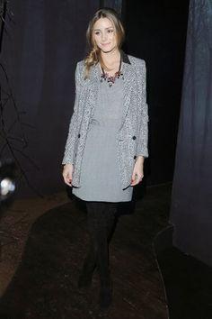 Milan Fashion Week 2014:Olivia Palermo at Elisabetta Franchi Presentation