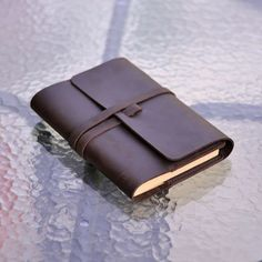 Refillable Leather Journal Handmade Book Cover Leather Sketchbook Diary Notebook | eBay