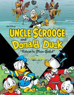 """Walt Disney Uncle Scrooge And Donald Duck: """"Return To Plain Awful"""" The Don Rosa Library Vol. 2 (The Don Rosa Library) Walt Disney, Disney Duck, Disney Magic, Disney Mickey, Disney Art, Mickey Mouse, Don Rosa, Donald Duck Comic, Uncle Scrooge"""