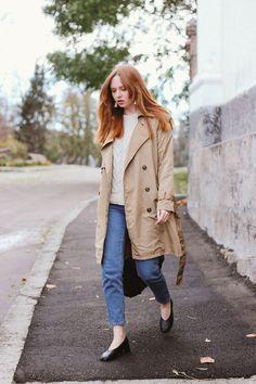 Kristina Magdalina - Metisu Trench Coat - Beige Trench Coat