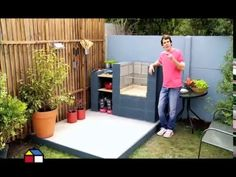 Fantásticas ideas para Utilizar Bloques de Cemento - YouTube                                                                                                                                                                                 Más