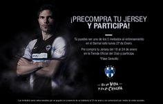 ¡Precompra tu 3er Jersey #Rayados y participa para ir a un entrenamiento en El Barrial! #Futbol #Promocion #Monterrey #Mexico