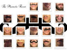Mustache party pic