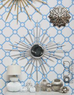 Toothpick wall art