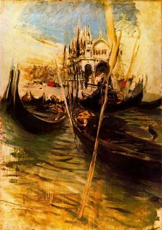 San-Marco in Venice — Giovanni Boldini (1895)