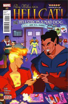 Patsy Walker, a.k.a. Hellcat #9 LOOK AT MY LOVE DAIMON!! LOOKING GOOD!!