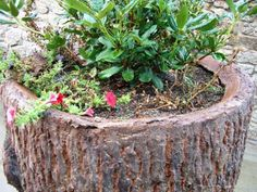 Jardinera-Maceta hecha con ankare deco + ankare stains+ ankare sealers