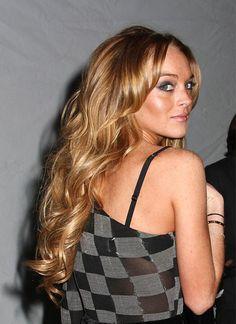 #lindsay #lohan #hair