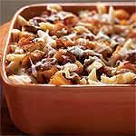 Roasted Butternut Squash and Bacon Pasta from Cooking Light / made this tonight and added chicken.  It was really, really good!