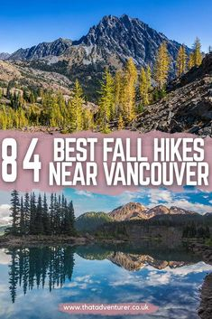 Looking for hikes in Vancouver? Check out these fall hikes near Vancouver! These autumn hikes in British Columbia are the perfect idea for a rainy day! Travel Tips Tips Travel Guide Hacks packing tour Vancouver Island, Vancouver Travel, Whistler, Vancouver British Columbia, Toronto Canada, Banff, Victoria, Quebec, Cool Places To Visit