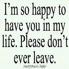 Please don't leave me babu...I really love u ..