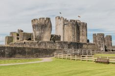 Castles | Caerphilly Castle, near Cardiff, Wales