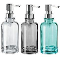 OGGI® Round Glass 12 oz. Soap Dispenser - Bed Bath & Beyond