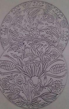 S Turkish Tiles, Turkish Art, Islamic Tiles, Beauvais, Persian Pattern, Ottoman Design, Islamic Patterns, Turkish Design, Tile Art