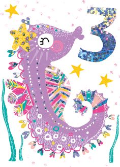 TROPICAL CANDY SEAHORSE 3 - USC114 By LOLA - Calypso