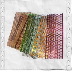 Punchanella 10 pieces $4.89 or buy here http://www.artfire.com/ext/shop/product_view/gauchealchemy/2235256/variety_pack_punchinella_sequin_waste_ribbon/supplies/craft_supplies
