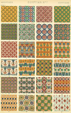 classic patterns referenced by style
