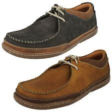 Men's Clarks Casual Lace Up Shoes The Style - Trapell Pace