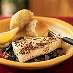 Search Result|Red Snapper over Sauteed Spinach and Tomatoes