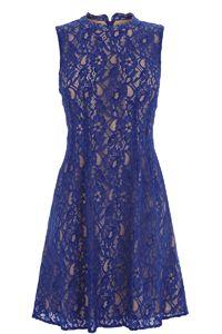 Lace Adonia High Neck Dress