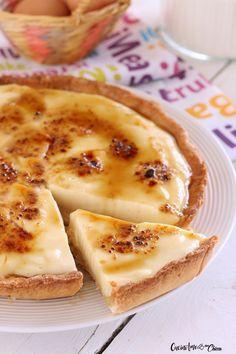 Crostata alla crema catalana