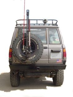 Trooper 87-91 REAR ROCKCRAWLING BUMPER