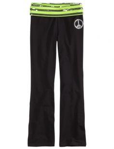 Graphic Waistband Yoga Pant