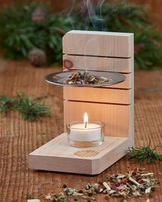 Woodworking Projects Diy, Diy Wood Projects, Wood Crafts, Woodworking Plans, Diy Home Crafts, Diy Arts And Crafts, Diy Home Decor, Diy Candles, Interior