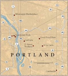 Pod People: A Guide to Portland's Best Food Trucks Portland Food Trucks, Best Food Trucks, Portland Map, Oregon Travel, Travel Usa, Oregon Vacation, Saveur Magazine, West Coast Road Trip, State Of Oregon
