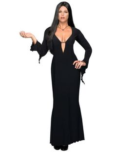Check out Morticia Addams Plus Size Costume - Sexy The Addams Family Costumes from Costume Super Center Hallowen Costume, Group Halloween Costumes, Family Costumes, Halloween Kostüm, Adult Costumes, Costumes For Women, Costume Ideas, Women Halloween, Couple Halloween