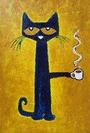 Pete the Cat - Coffee by James Dean