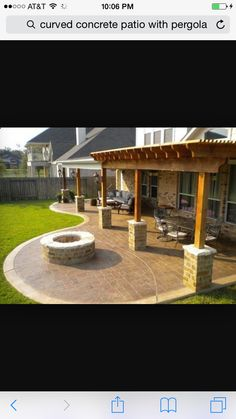 34 best curved patio images backyard patio balcony gardens rh pinterest com