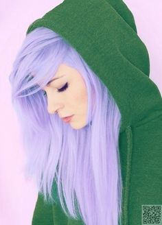 23. #Vibrant Lavender - 43 Girls #Rocking Pastel Hair ... → Hair #Lavender