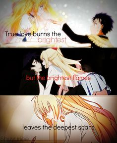 Kirisaki Chitoge and Raku Ichijo.#TeamChitoge is the best ship ever.