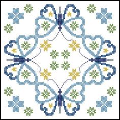 Herrschners® Butterfly Fields Quilt Blocks Stamped Cross-Stitch