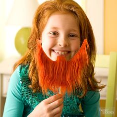 Celebrate the spirit of St. Patrick's Day by making creative crafts with your kids! They'll love putting on a leprechaun beard, playing with their new shamrock pinwheels, or handing out homemade goodie bags. We even have St.