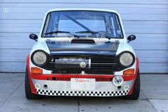 Learn more about Madness in Miniature: Streetable 1972 Autobianchi Abarth Racer on Bring a Trailer, the home of the best vintage and classic cars online. Fiat 500, Fiat Cars, Fiat Abarth, Steyr, Small Cars, Classic Cars Online, Thing 1, Sport Bikes, Cars And Motorcycles