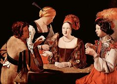 Georges de la Tour, The cheat with the ace of clubs, 1620 ca.