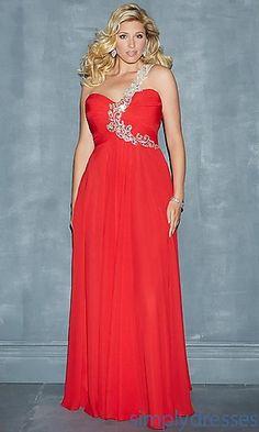 Michele - One Shoulder Floor Length Dress